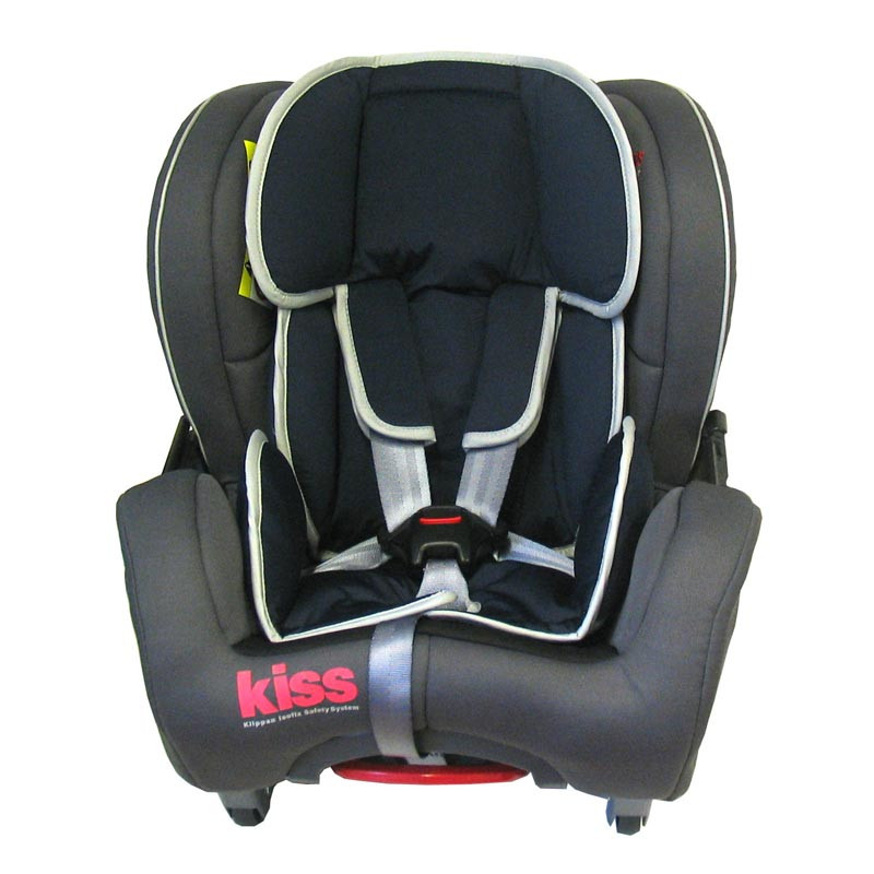 kiss 2 silla de coche de klippan en color negro