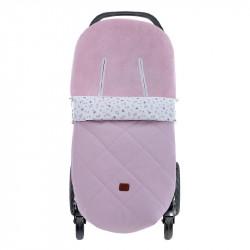 saco de invierno para silla de paseo julieta cocco 5200 de uzturre en color rosa