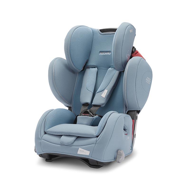 silla de coche young sport hero de recaro en el color prime frozen blue