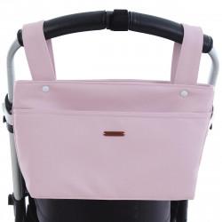 bolso taleguita pequeño POL de Uzturre en color rosa empolvado
