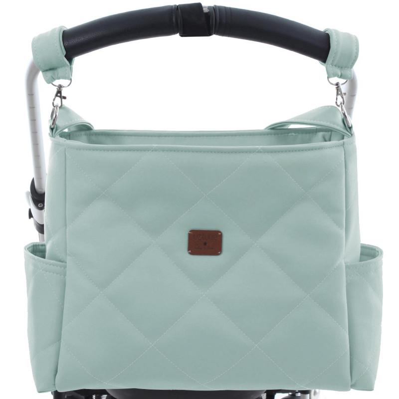 bolso paseo Cocco modelo 3900 de uzturre en color menta