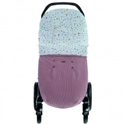 saco para silla de paseo mario de uzturre en color rosa empolvado