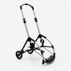 chasis del cochecito bee 6 de bugaboo en color aluminio