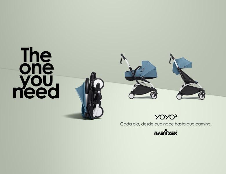 Yoyo2 babyzen versatilidad
