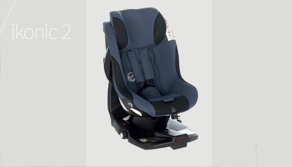 silla de coche para bebé ikonic 2 de jane. Una silla de coche isize con rotación 360º