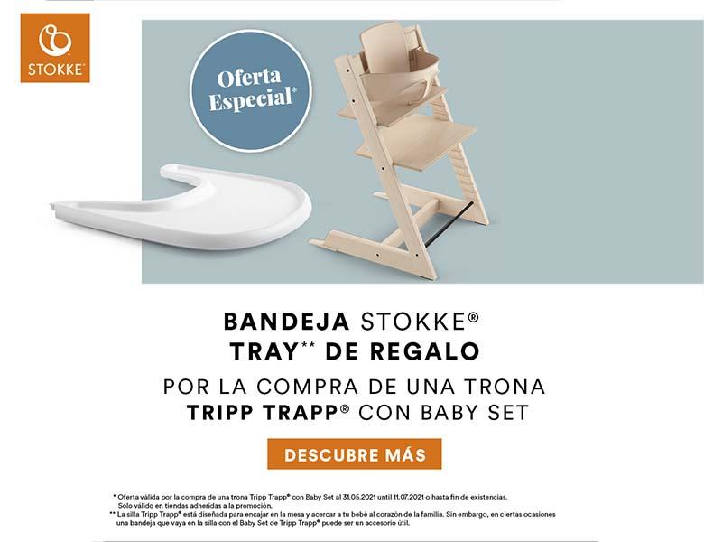 promoción stokke tripp trapp con bandeja